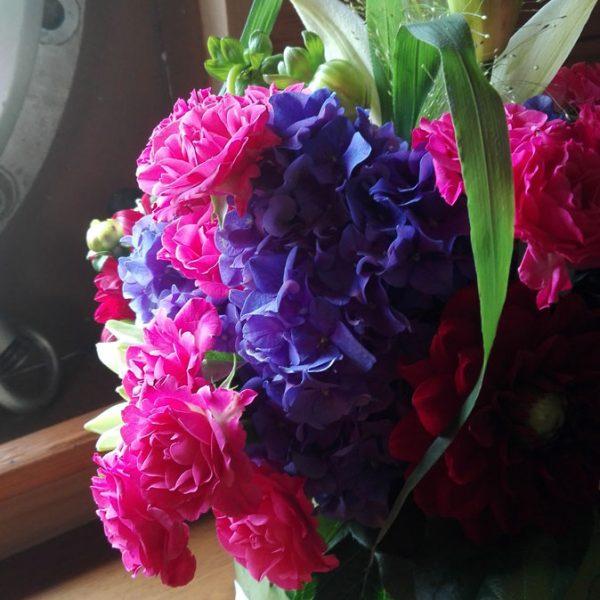 compositions florales en entreprise